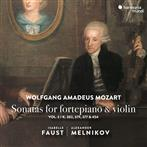 "Mozart ""Sonatas For Pianoforte & Violin Faust Melnikov"""