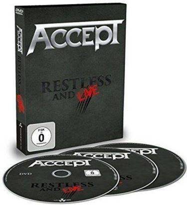 "Accept ""Restless And Live Dvdcd"""