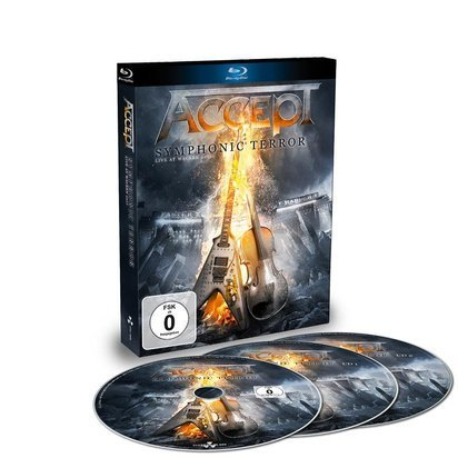 "Accept ""Symphonic Terror - Live At Wacken 2017 BRCD"""