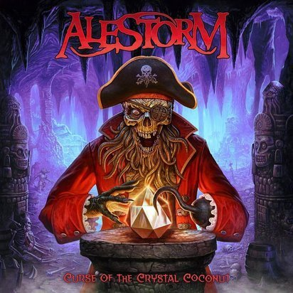 "Alestorm ""Curse Of The Crystal Coconut LP"""