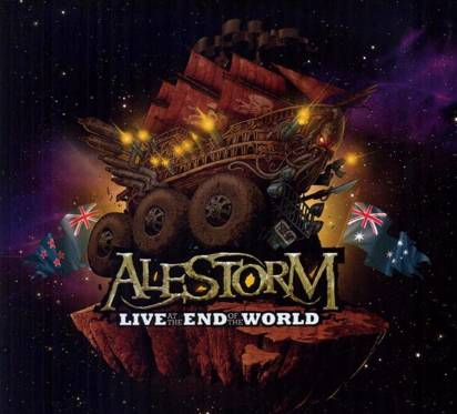 "Alestorm ""Live At The End Of The World Limited Edition"""