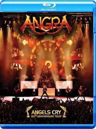 "Angra ""Angels Cry 20th Anniversary Tour Br"""