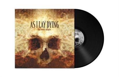 "As I Lay Dying ""Frail Words Collapse Black Lp"""