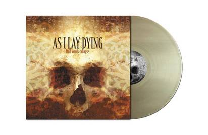 "As I Lay Dying ""Frail Words Collapse Gold Lp"""
