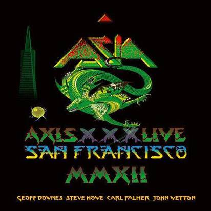 "Asia ""Axis Live Cddvd"""