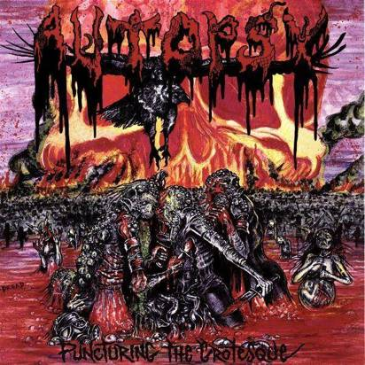 "Autopsy ""Puncturing The Grotesque Lp"""
