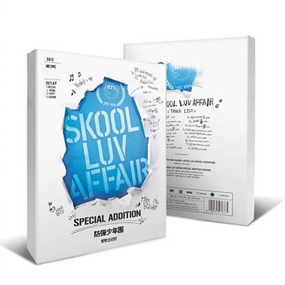 "BTS ""Skool Luv Affair Special Edition"""