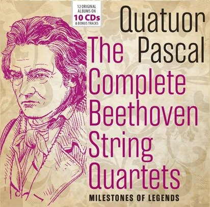 "Beethoven ""The Complete Quartets Quatuor Pascal"""