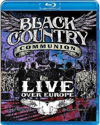 "Black Country Communion ""Live Over Europe Bluray"""