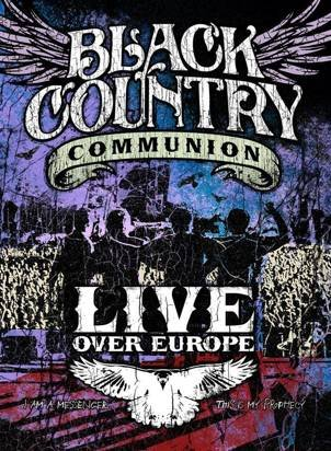 "Black Country Communion ""Live Over Europe Dvd"""