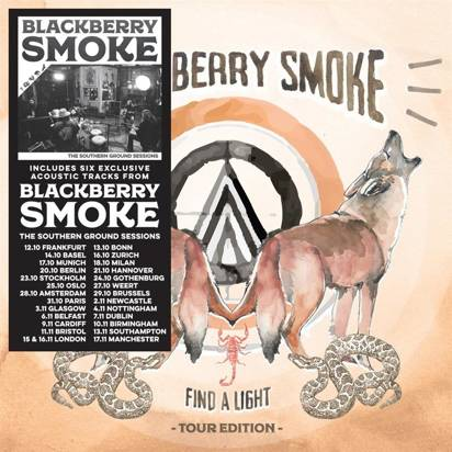"Blackberry Smoke ""Find A Light Tour Edition"""