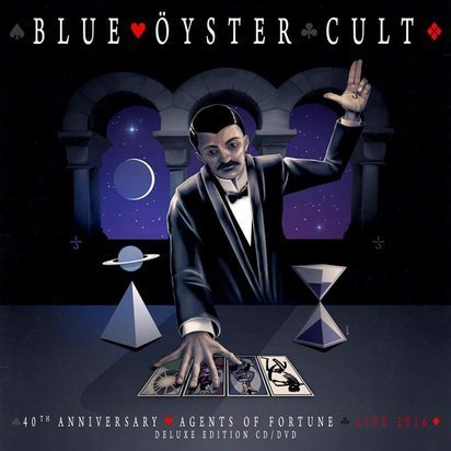 "Blue Oyster Cult ""40th Anniversary Agents Of Fortune - Live 2016 CDDVD"""