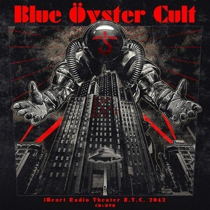 "Blue Oyster Cult ""iHeart Radio Theater NYC 2012 CDDVD"""