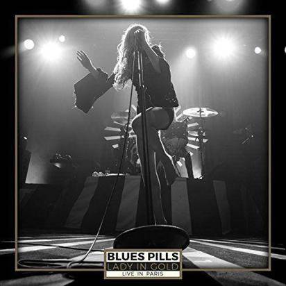 "Blues Pills ""Lady In Gold – Live In Paris DVDCD"""