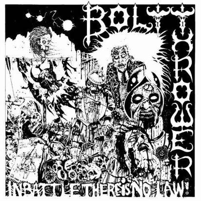 "Bolt Thrower ""In Battle There Is No Law LP"""