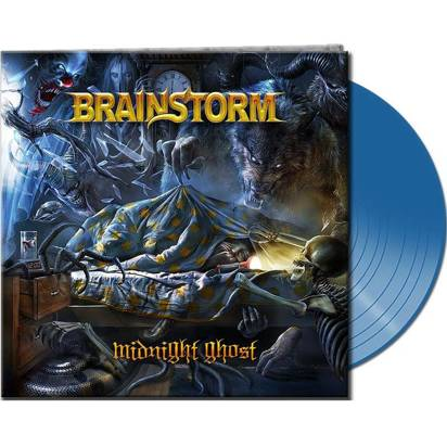 "Brainstorm ""Midnight Ghost Clear Blue LP"""