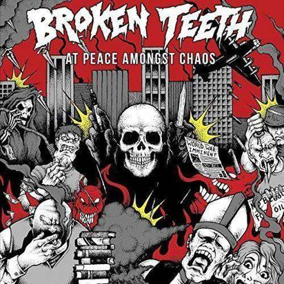 "Broken Teeth Hc ""At Peace Amongst Chaos Lp"""