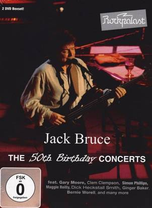 "Bruce, Jack ""The 50th Birthday Concerts Dvd"""
