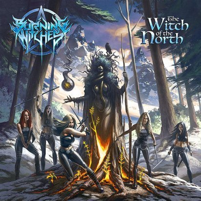 "Burning Witches ""The Witch Of The North LP BLACK"""