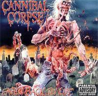 "Cannibal Corpse ""Eaten Back To Life Lp"""