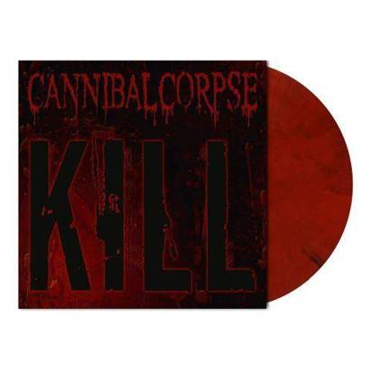 "Cannibal Corpse ""Kill Red Black Marbled LP"""