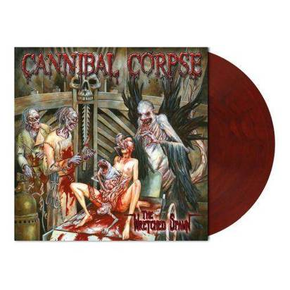 "Cannibal Corpse ""The Wretched Spawn Red Blue LP"""