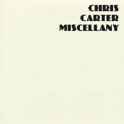 "Carter, Chris  ""Miscellany Lp"""