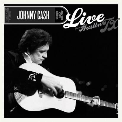 "Cash, Johnny ""Live From Austin Tx Limited Edition"""