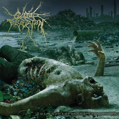 "Cattle Decapitation ""The Anthropocene Extinction Black Lp"""