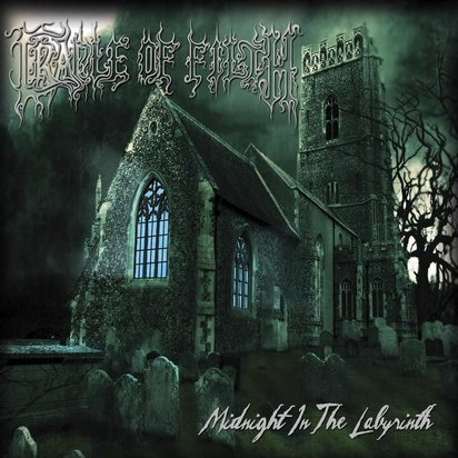 "Cradle Of Filth ""Midnight In The Labyrinth LP"""
