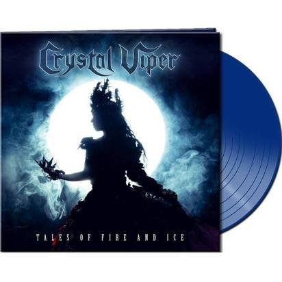 "Crystal Viper ""Tales Of Fire And Ice Blue LP"""