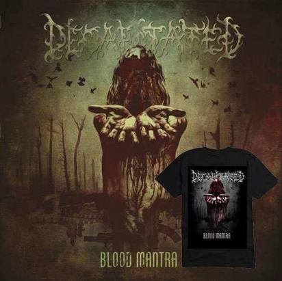"Decapitated ""Blood Mantra"" T-shirt z nadrukiem"