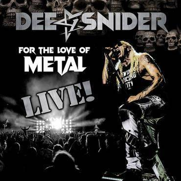Dee Snider - For The Love Of Metal Live / 2LP+DVD