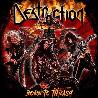 "Destruction ""Born To Thrash Live In Germany"""