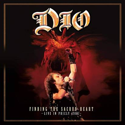 "Dio ""Finding The Sacred Heart - Live In Phillly 1986 LP WHITE RSD"""