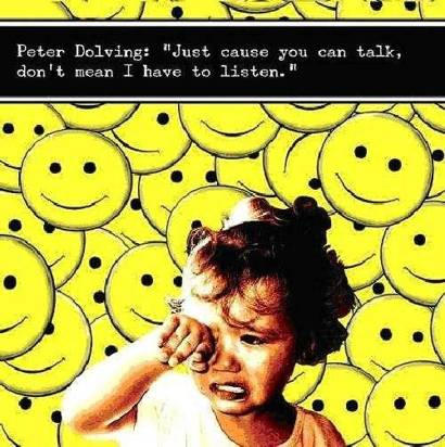 "Dolving, Peter ""Just Cause You Can Talk"""
