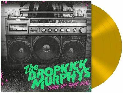 "Dropkick Murphys ""Turn Up The Dial LP COLORED"""
