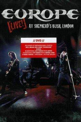 "Europe ""Live At Shepherd'S Bush London Dvd"""