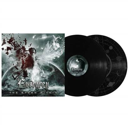 "Evergrey ""The Storm Within Black Lp"""