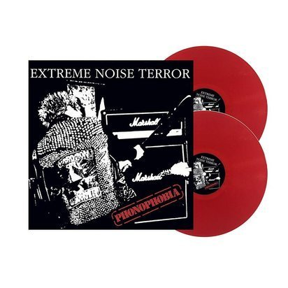 "Extreme Noise Terror ""Phonophobia LP RED"""