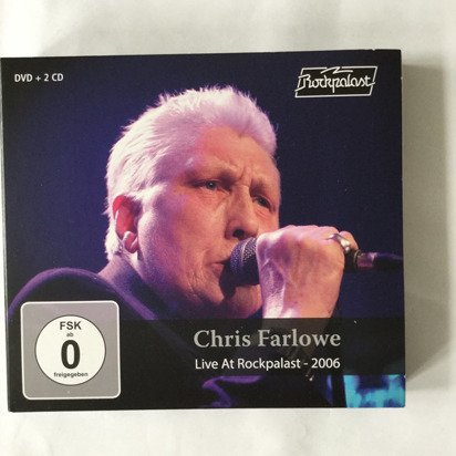"Farlowe, Chris ""Live At Rockpalast 2006 CDDVD"""