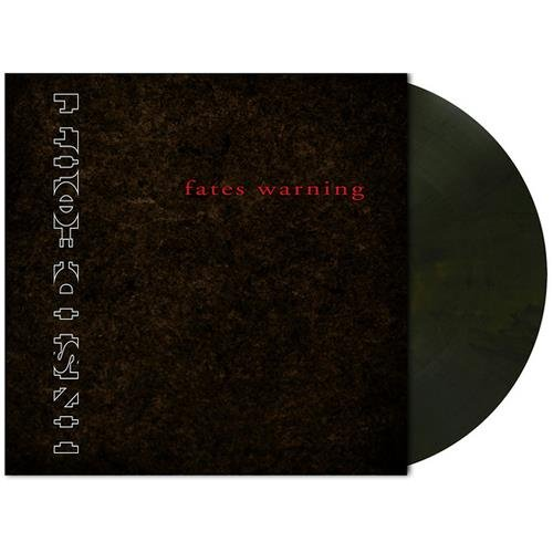 "Fates Warning ""Inside Out ORIG Dark Brown Marbled LP"""