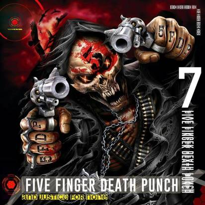 "Five Finger Death Punch ""And Justice For None LP"""