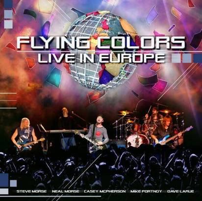 "Flying Colors ""Live In Europe Cd"""