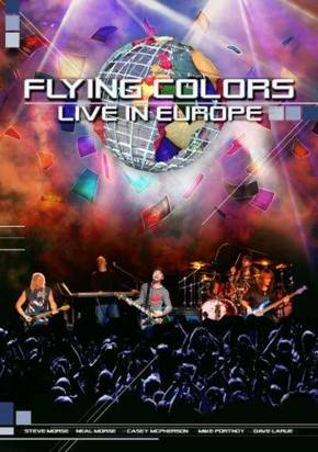 "Flying Colors ""Live In Europe Dvd"""