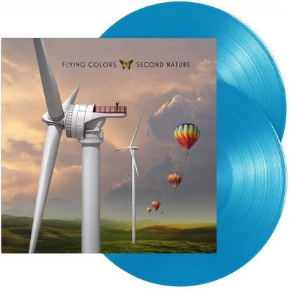 "Flying Colors ""Second Nature LP BLUE"""