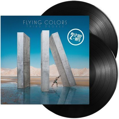 "Flying Colors ""Third Degree Black LP"""