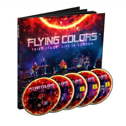 "Flying Colors ""Third Stage Live In London Earbook"""