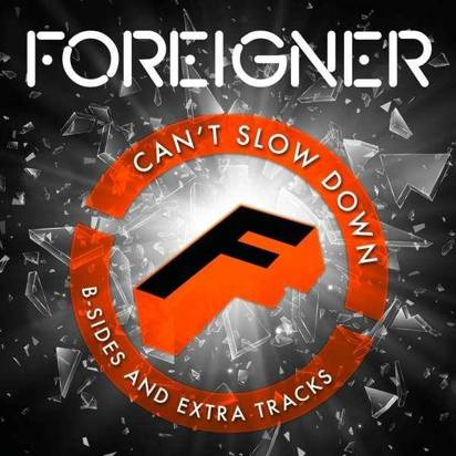 "Foreigner ""Can't Slow Down Deluxe Edition LP ORANGE"""