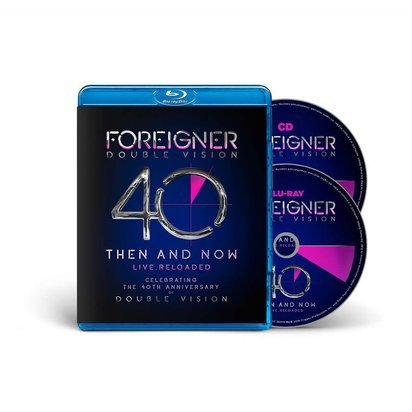 "Foreigner ""Double Vision Then And Now BRCD"""